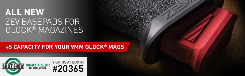 New ZEV Basepads for Glock magazines!