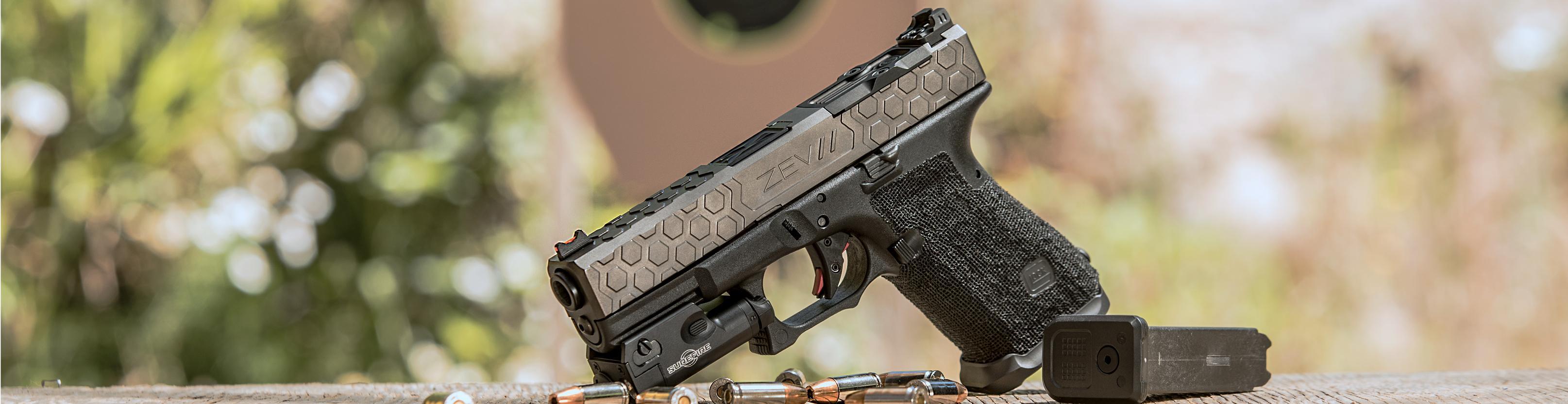 Glock Pistol Trigger, Barrel, Slide and Other Premium Upgrades