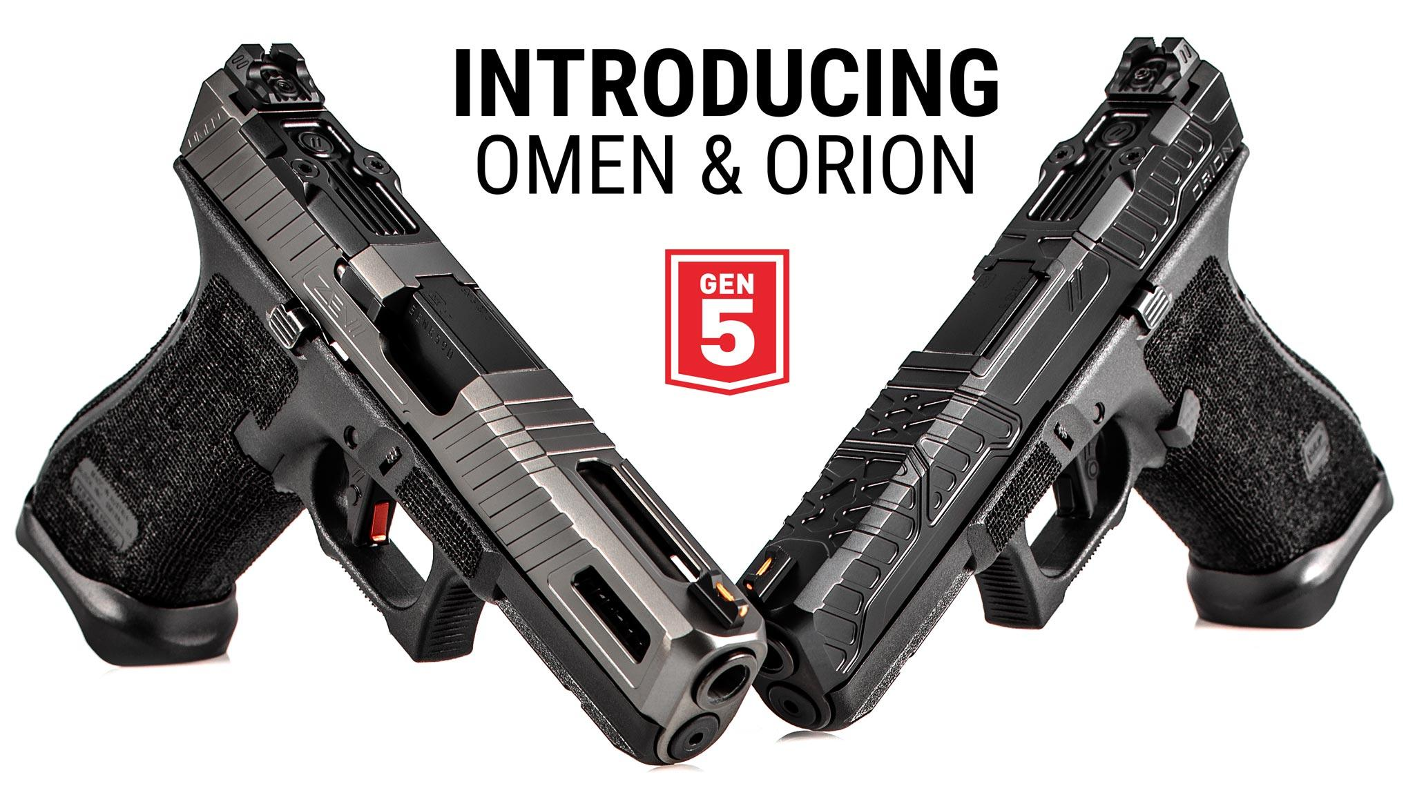 Gen 5 Orion Slide and Omen Slide | NEW ZEV Tech