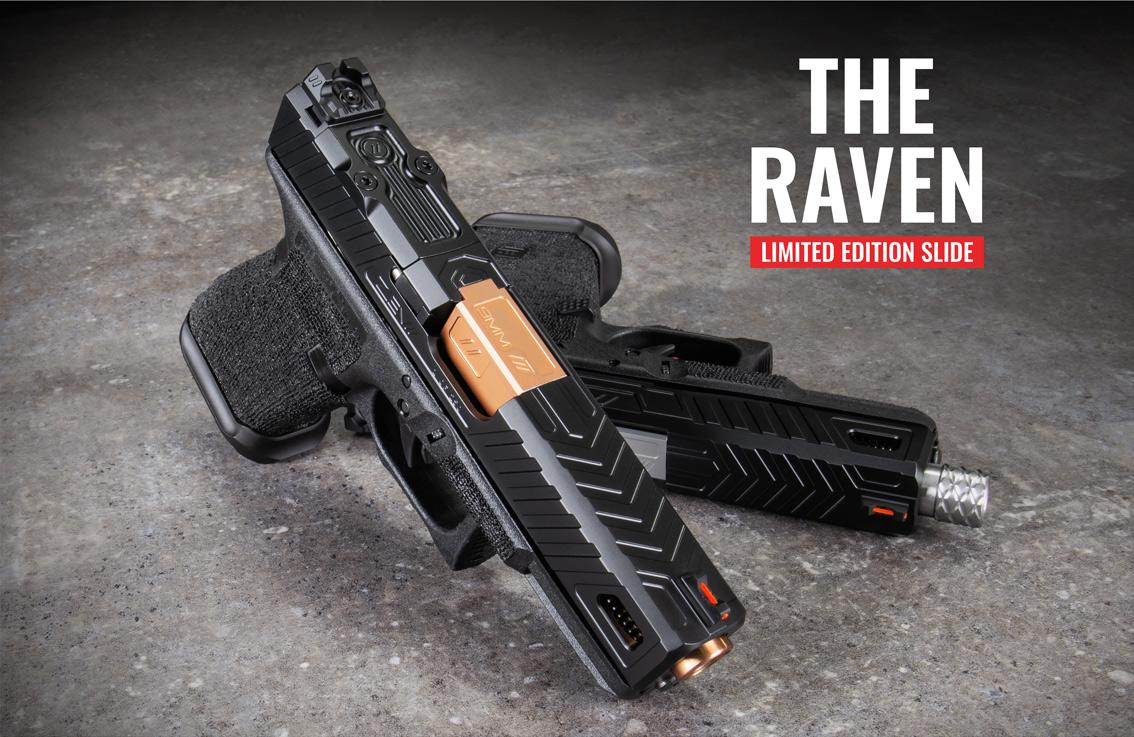 Raven Glock Slide - Limited Edition Slide