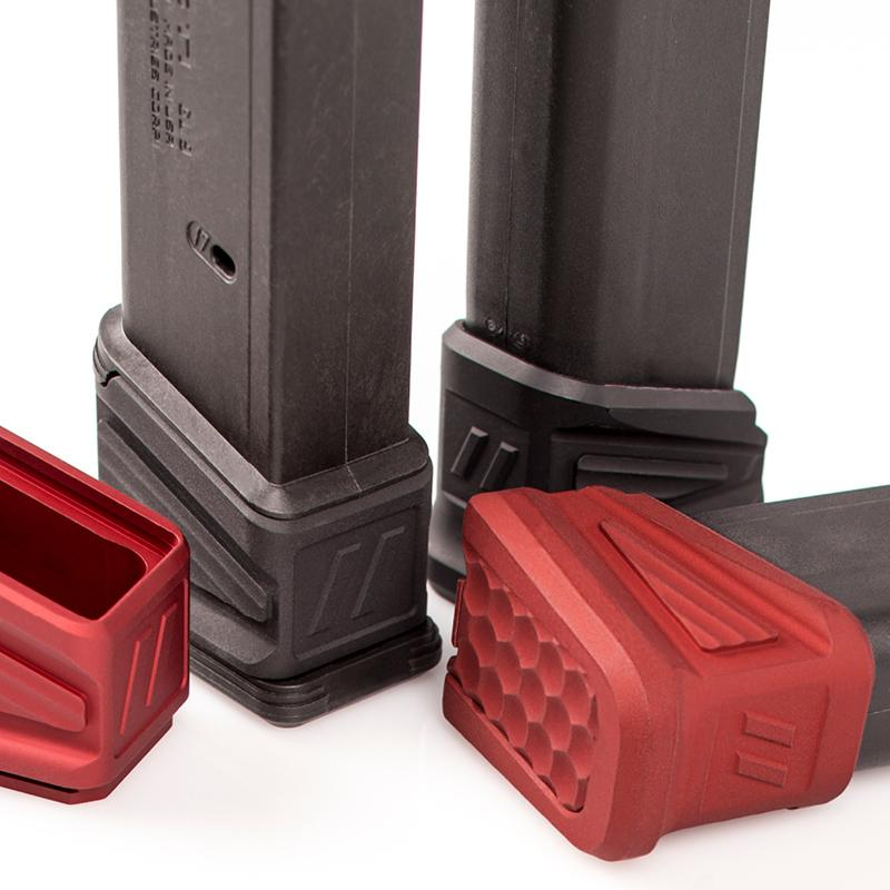 Premium Magwells and Basepads for Glock Gen 3 and 4