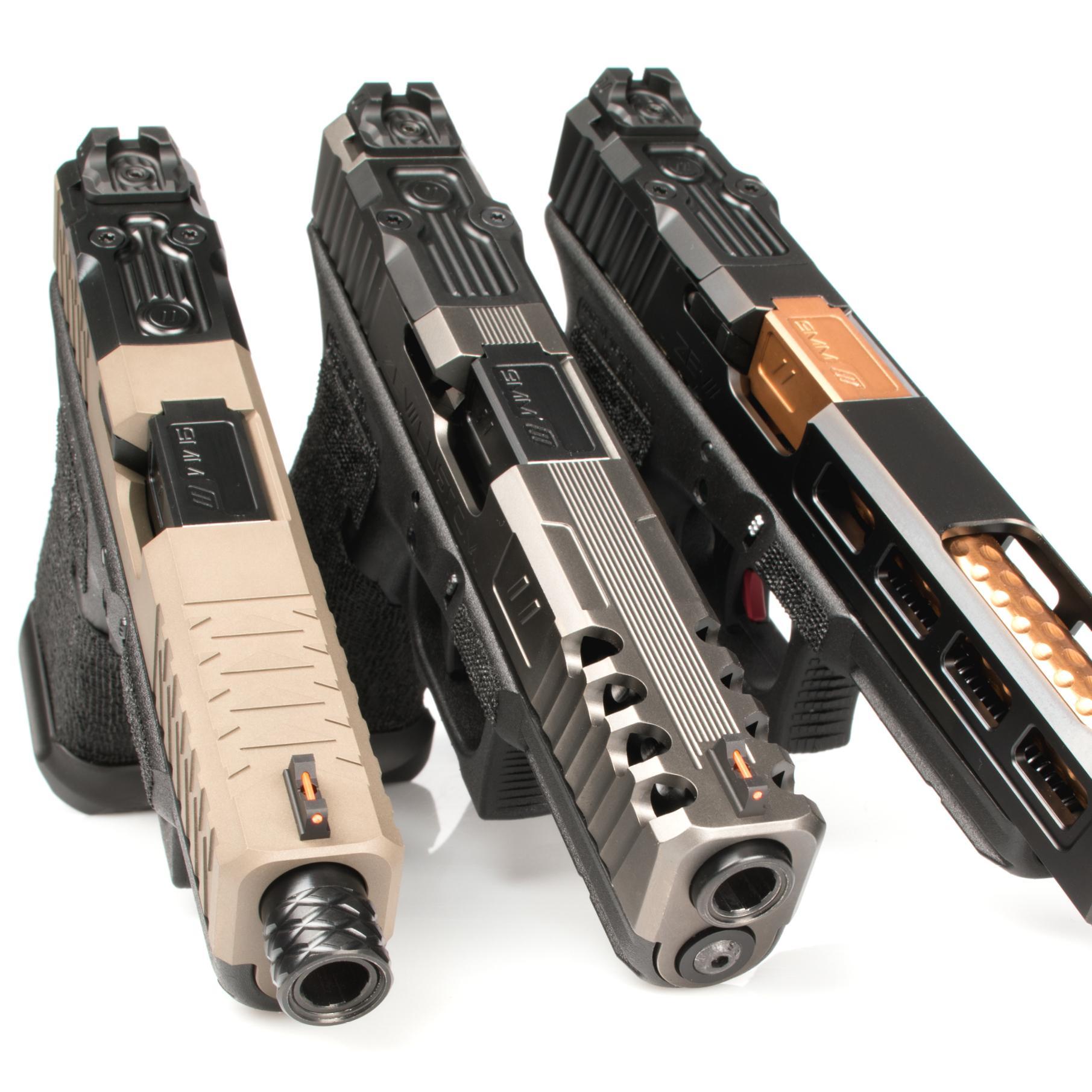 Glock Pistol Trigger Barrel Slide And Other Premium Upgrades 19 Diagram Gun Mods