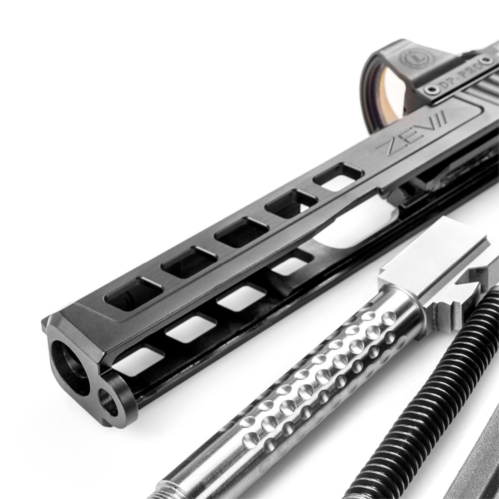 Glock Pistol Trigger Barrel Slide And Other Premium Upgrades 19 Diagram Slides
